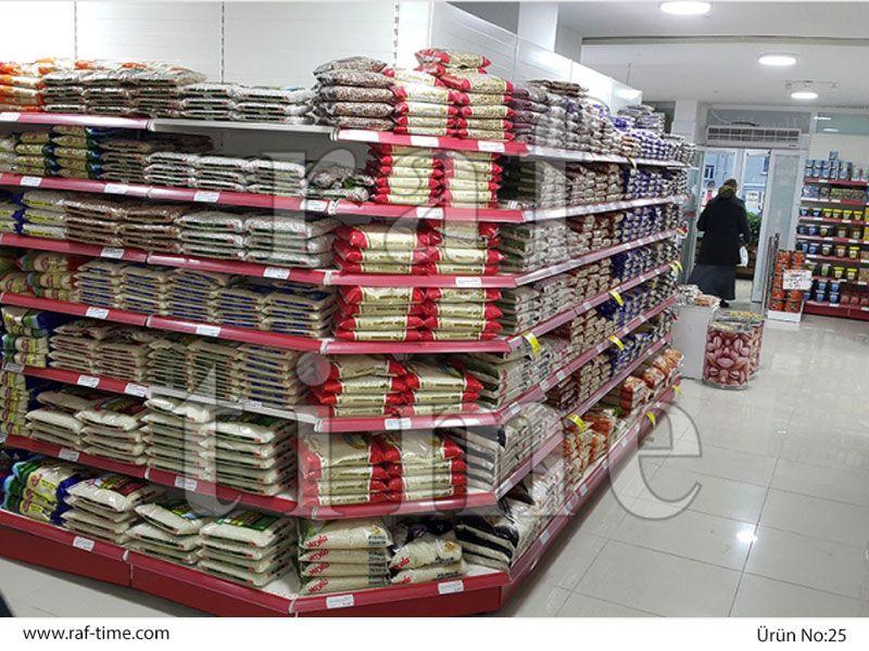 Metal Market Shelves