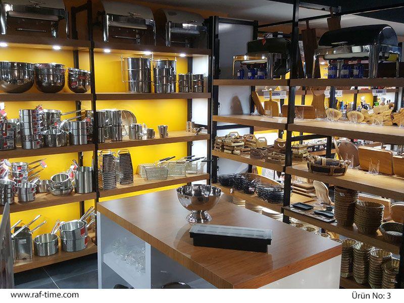 Industrial Kitchen Shop Design